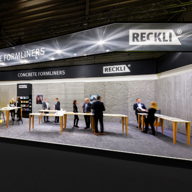 RECKLI– Freedom of design for concrete surfaces.